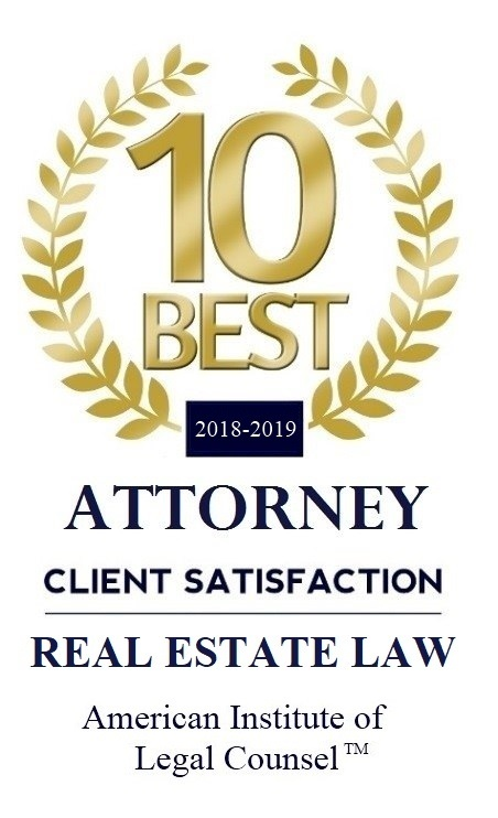 2018-2019 10 BEST Real Estate Law (1)